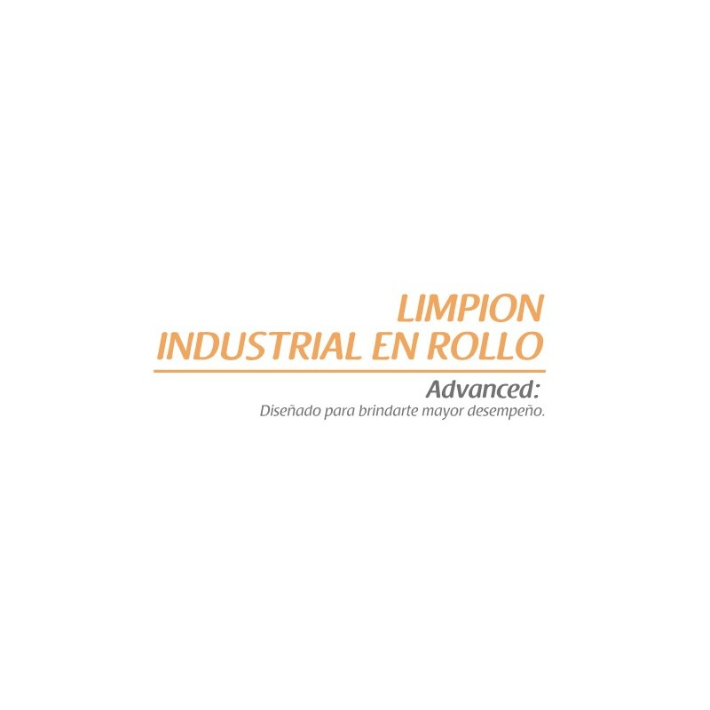Limpion industrial en rollo